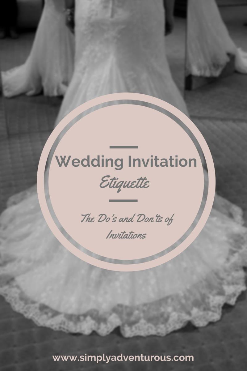 wedding invitation etiquette change with us