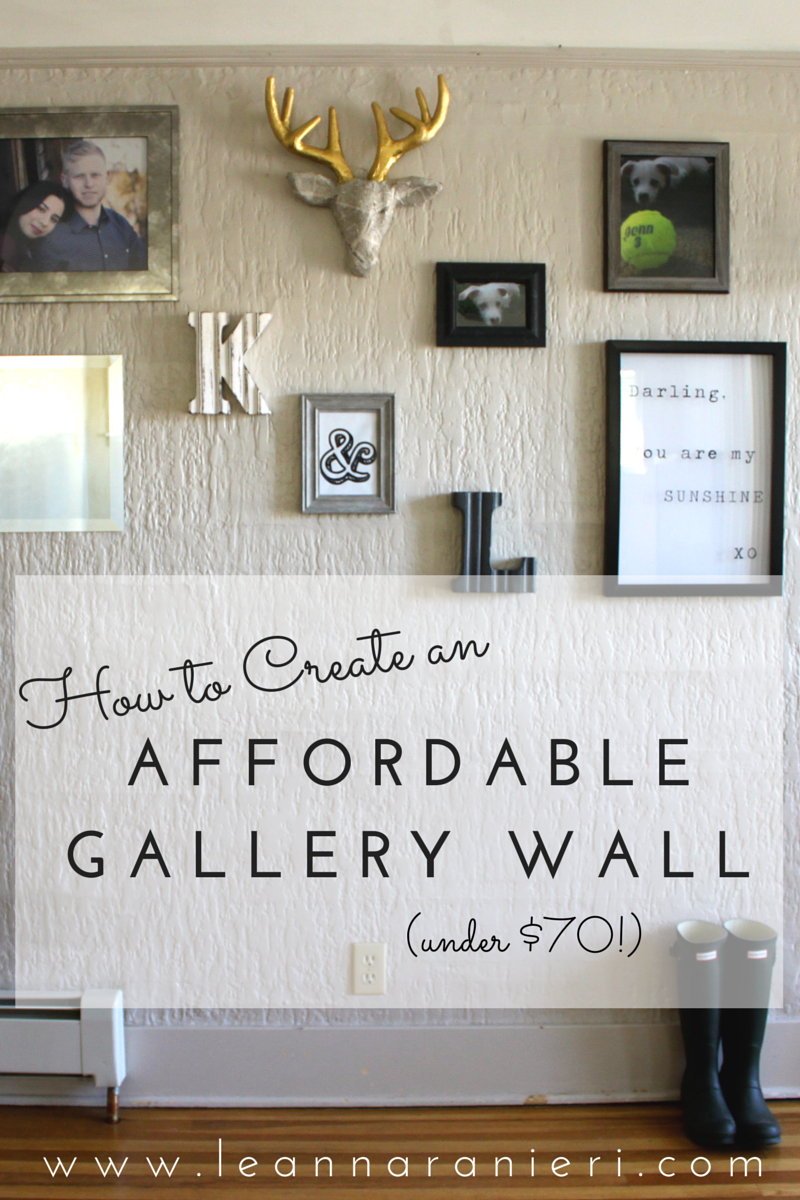 Affordable Gallery Wall