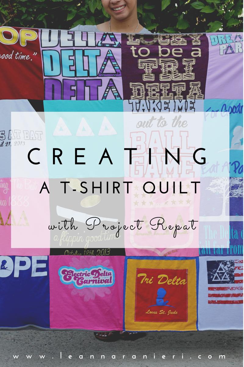 Creating a T-Shirt Quilt