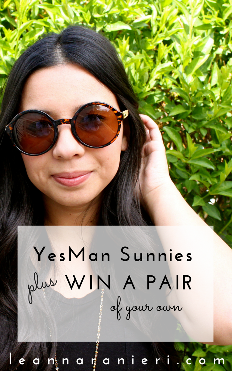 Yes Man Sunnies + WIN A PAIR