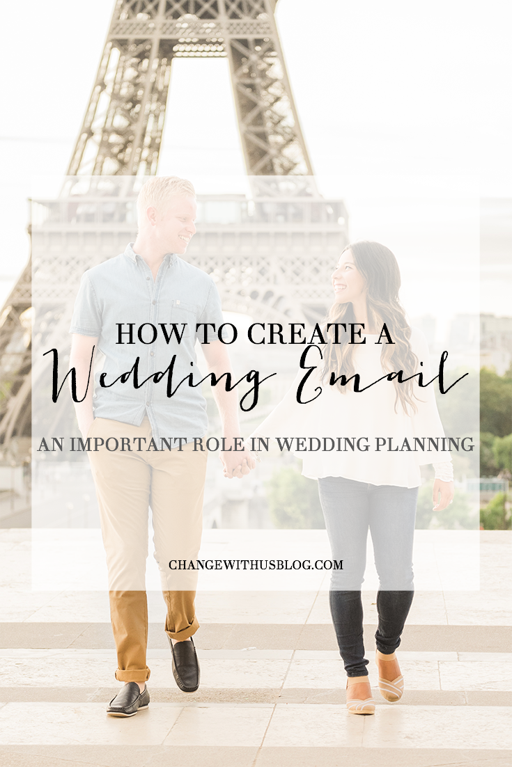 How to Create a Wedding Email