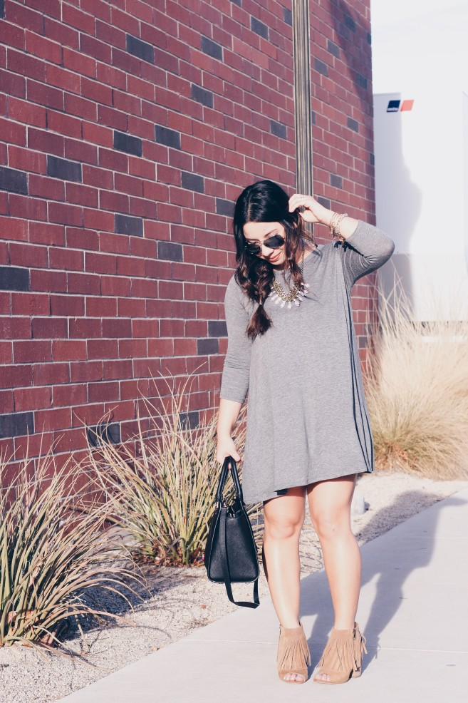 How To Style A T-Shirt Dress Two Ways – Part II