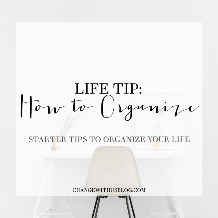 tips to organize your life - agenda