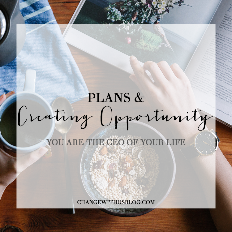 opportunity, ceo, your life, plans