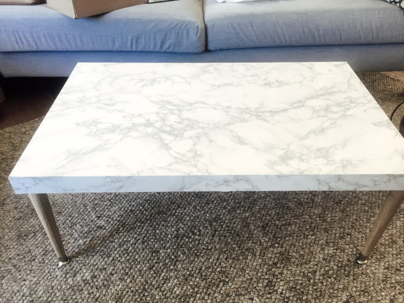 DIY Marble Coffee Table (3 Of 2)