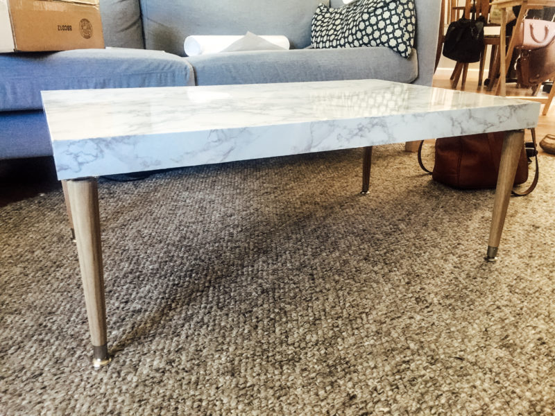DIY Marble Coffee Table (4 of 2)