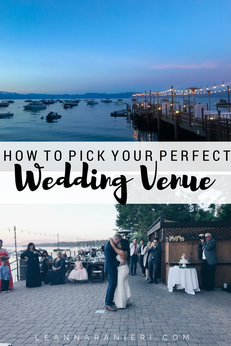 How to pick your perfect wedding venue
