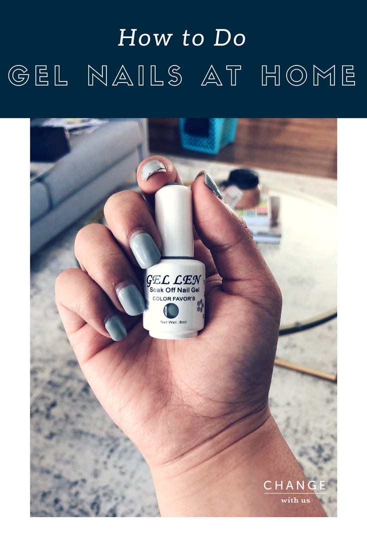 how to make gel nails at home